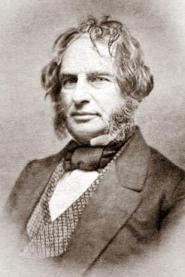 American poet Henry Wadsworth Longfellow