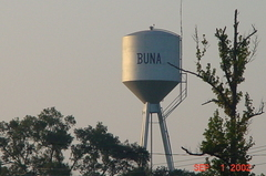 Buna water tower
