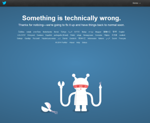 Something is Technically Wrong With Twitter