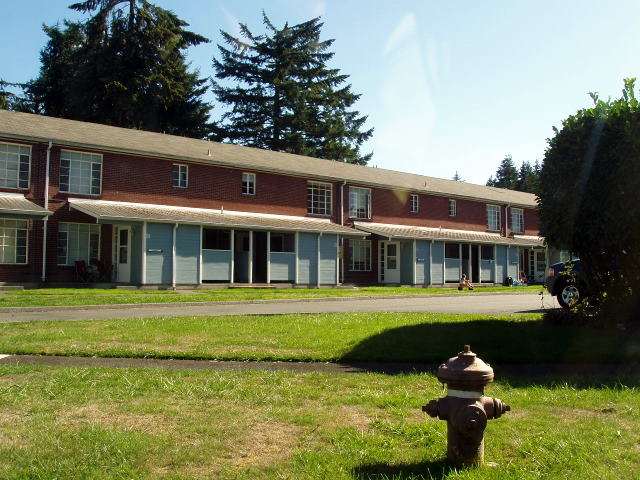 Fort Lewis Company Grade Married Officer's Quarters