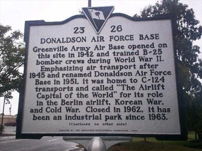 Donaldson AFB
